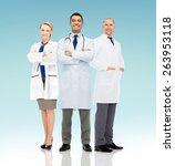 healthcare  advertisement ... | Shutterstock . vector #263953118