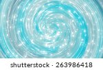 abstract blue shiny background. ... | Shutterstock . vector #263986418
