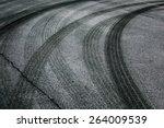 Abstract Asphalt Road...