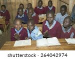 karimba school with school... | Shutterstock . vector #264042974