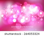 summer magical background with... | Shutterstock .eps vector #264053324