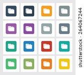 very useful flat icon of folder ...