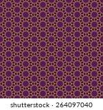 hexagon pattern  vector... | Shutterstock .eps vector #264097040