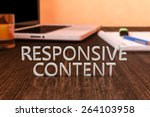 responsive content   letters on ...
