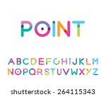 Font With A Bright Point...
