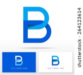 letter b logo icon design...