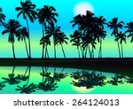Tropical Seashore Day With...