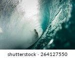 ghostly barrels  | Shutterstock . vector #264127550