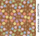 the pattern for the background  ... | Shutterstock .eps vector #264137756