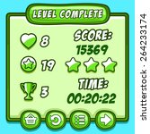 game green level complete icons ...