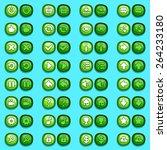game menu interface icons ice...