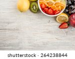 Fruit Salad With Ripe Fruits O...