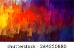 Colorful Chalk Brush Strokes...