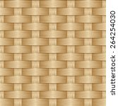 wooden striped textured... | Shutterstock .eps vector #264254030