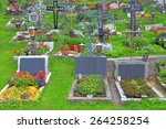 Traditional Cemetery Decorated...