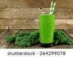 Healthy Green Smoothie With...