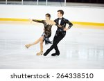 Figure skating of young skaters ...