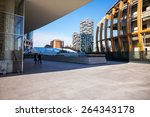 Small photo of Milan, Italy - January 26 2015: Porta Nuova, the Bosco Verticale Towers seen from Aalto square