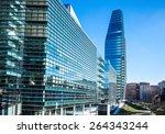 Small photo of Milan, Italy - January 26 2015: Porta Nuova, the Diamond Tower seen from Aalto square