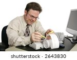 An Accountant Preparing Someone'...
