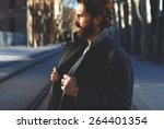 portrait of fashionable well...   Shutterstock . vector #264401354
