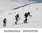 etna ski alp   world... | Shutterstock . vector #264414536
