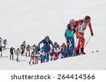 etna ski alp   world... | Shutterstock . vector #264414566