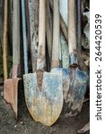 Used And Worn Gardening Tools...