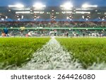 stadium with fans the night... | Shutterstock . vector #264426080