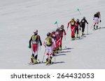 etna ski alp   world... | Shutterstock . vector #264432053
