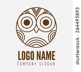 logo  label  badge  emblem or... | Shutterstock .eps vector #264495893