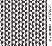 geometric black and white... | Shutterstock .eps vector #264570104