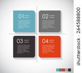 infographic templates for...   Shutterstock .eps vector #264588800