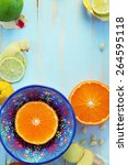 Image Of Various Citrus Fruits...