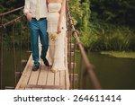 Fashionable Cool Wedding Coupl...