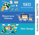 seo  responsive website and web