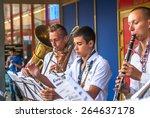 rivne  ukraine   august 24 ... | Shutterstock . vector #264637178