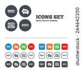 back to school sale icons.... | Shutterstock .eps vector #264642350