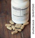 vitamin pills. selective focus  ...   Shutterstock . vector #264645260