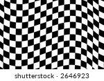 Hi Contrast  Wavy Checkered...