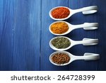 Different Kinds Of Spices In...