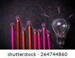 infographic concept | Shutterstock . vector #264744860