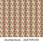 abstract geometric seamless... | Shutterstock .eps vector #264749150