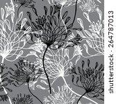 vector seamless pattern of... | Shutterstock .eps vector #264787013