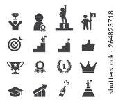 success icon set | Shutterstock .eps vector #264823718