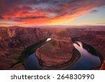 Amazing Sunset Vista Of...