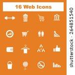 very useful flat web icons on...