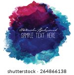 abstract beautiful and elegant... | Shutterstock .eps vector #264866138