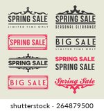 sale elements | Shutterstock .eps vector #264879500