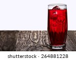 Iced Hibiscus Tea Also Known A...